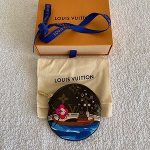 Louis Vuitton Vivienne Venice Round Coin Purse